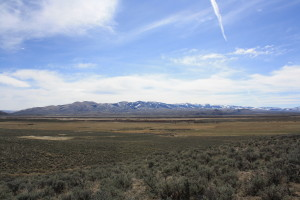 Looking southeast from Bloody Dick Road in the Horse Prairie drainage. 3/29/15