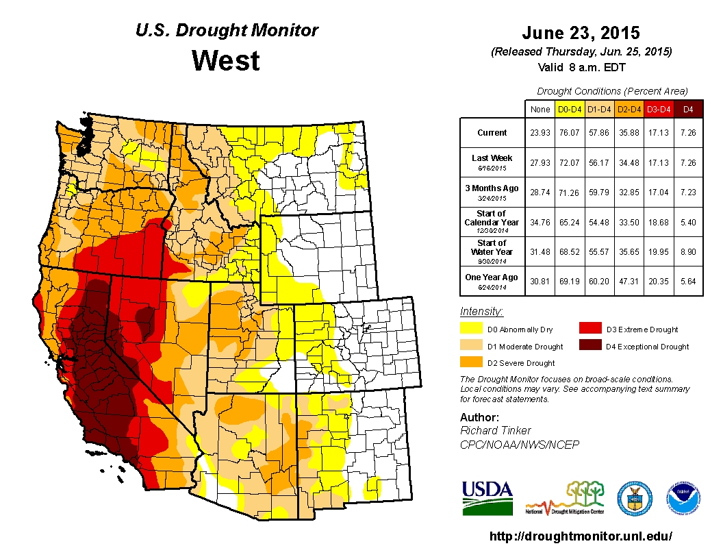 Drought October State Of The Climate National Centers US - Us county map google