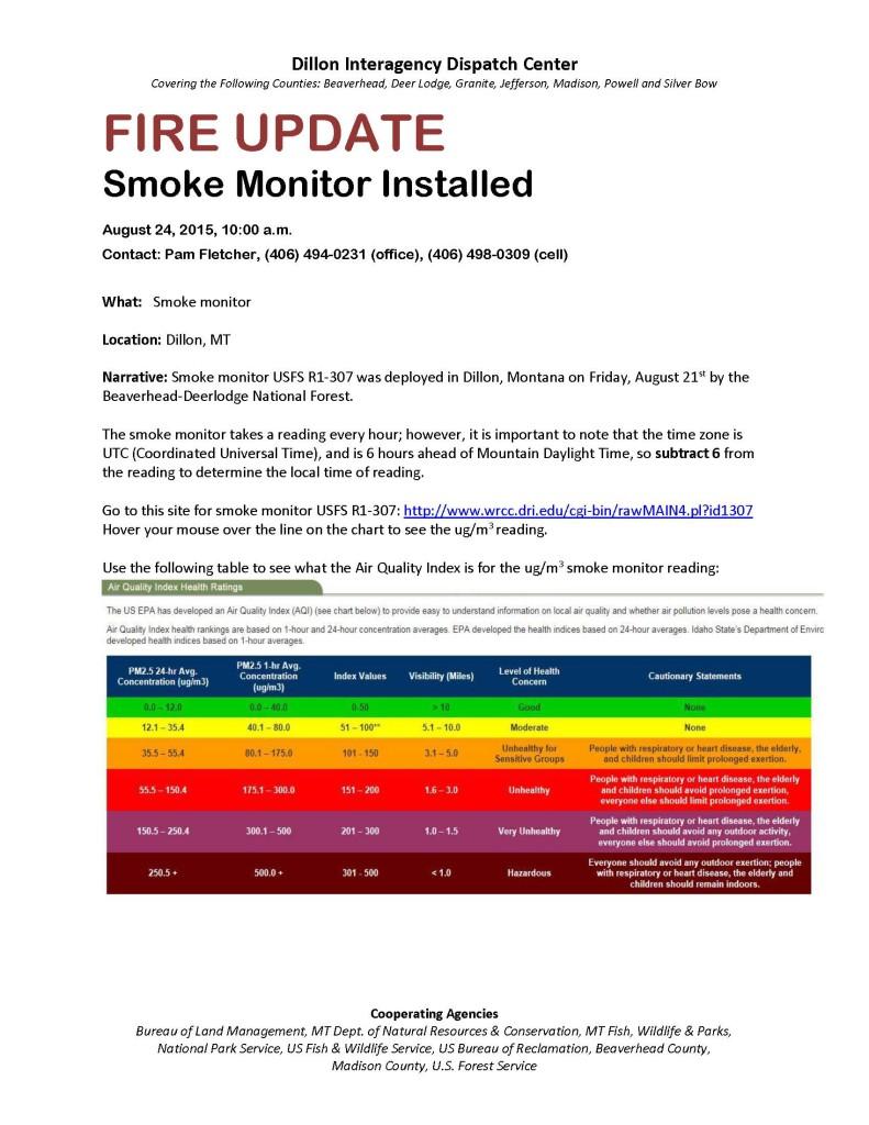 Dillon Smoke Monitor