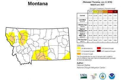 Beaverhead Drought Task Force June Update